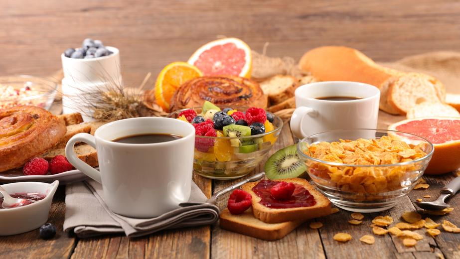 petit déjeuner à l'Auberge d'Eva de Saint-Tropez